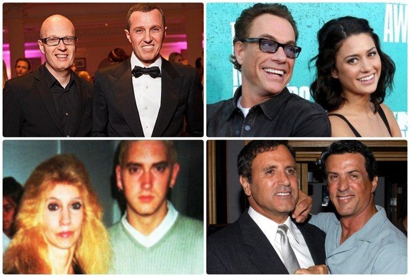 Родственники знаменитостей, о жизни которых практически ничего не известно звездные родственники, звезды, родственные связи знаменитостей, сестры и братья знаменитостей, фото