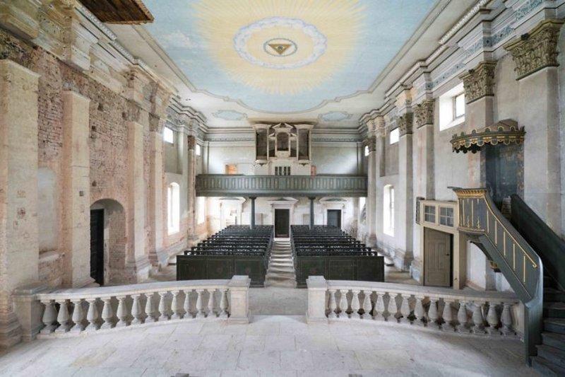 Кирха, Германия архитектура, европа, заброшенные здания, изящество, стильные строения, фотографии, фотопутешествие, фотосерия