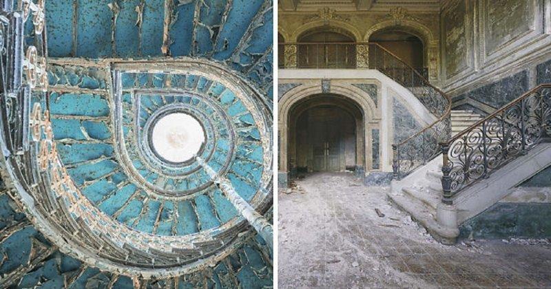 Заброшенные шедевры архитектуры архитектура, европа, заброшенные здания, изящество, стильные строения, фотографии, фотопутешествие, фотосерия