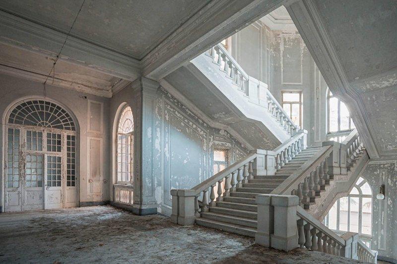 Психиатрическая лечебница, Италия архитектура, европа, заброшенные здания, изящество, стильные строения, фотографии, фотопутешествие, фотосерия