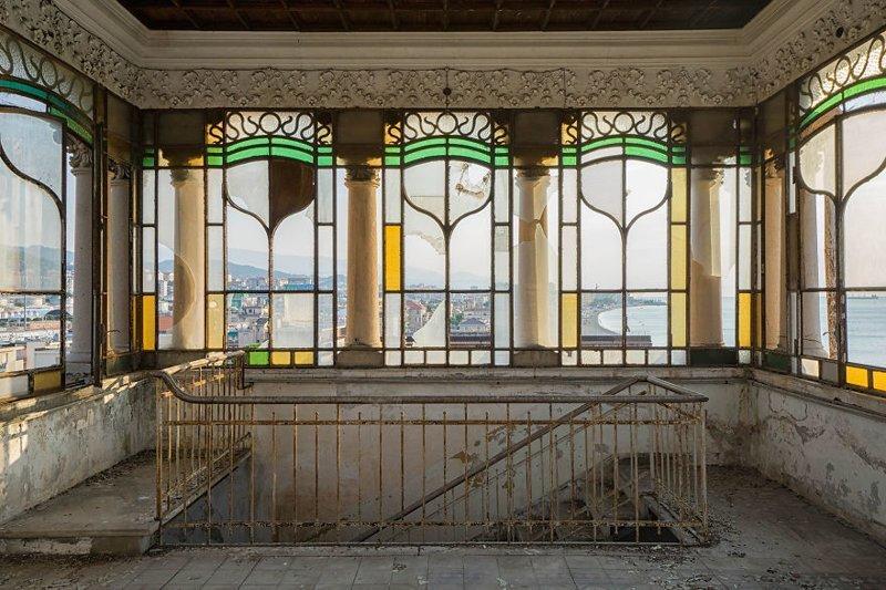 Вилла Дзанелли, Италия архитектура, европа, заброшенные здания, изящество, стильные строения, фотографии, фотопутешествие, фотосерия