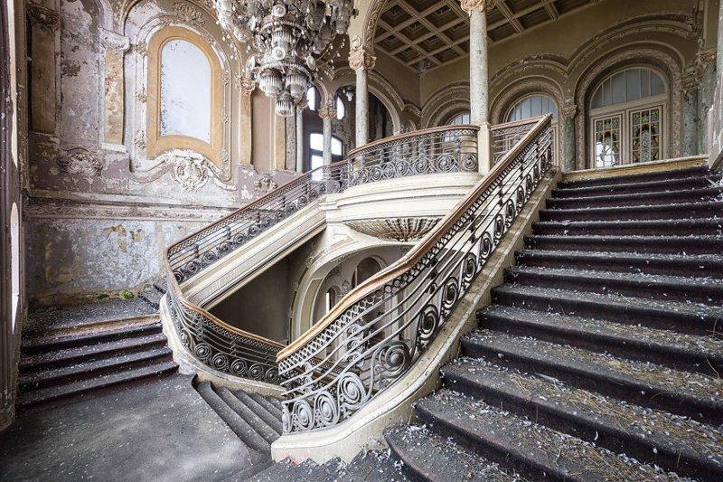 Казино, Румыния архитектура, европа, заброшенные здания, изящество, стильные строения, фотографии, фотопутешествие, фотосерия