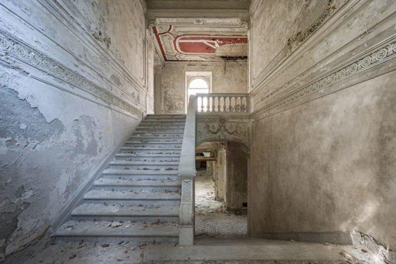 Вилла Минетти, Италия архитектура, европа, заброшенные здания, изящество, стильные строения, фотографии, фотопутешествие, фотосерия