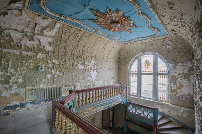 Вилла Веге, Германия архитектура, европа, заброшенные здания, изящество, стильные строения, фотографии, фотопутешествие, фотосерия
