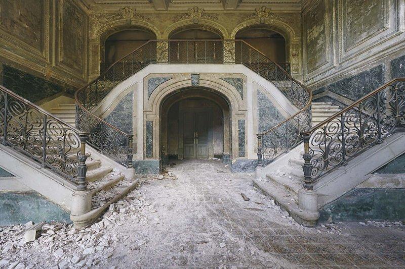 Дворец зеленого мрамора, Франция архитектура, европа, заброшенные здания, изящество, стильные строения, фотографии, фотопутешествие, фотосерия