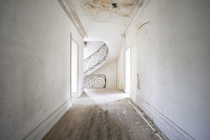 Белый замок, Франция архитектура, европа, заброшенные здания, изящество, стильные строения, фотографии, фотопутешествие, фотосерия