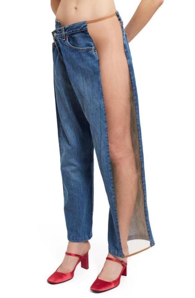 Громкая новинка появилась на сайте модного бренда Оpening Сeremony trend, джинсы, дизайнеры, мода, модные новинки, одежда, странно, странные вещи