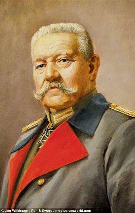 Командующий Пауль фон Гинденбург война, история, колоризация, колоризированные фото, первая мировая война, ретро фото, старые фотографии, фото
