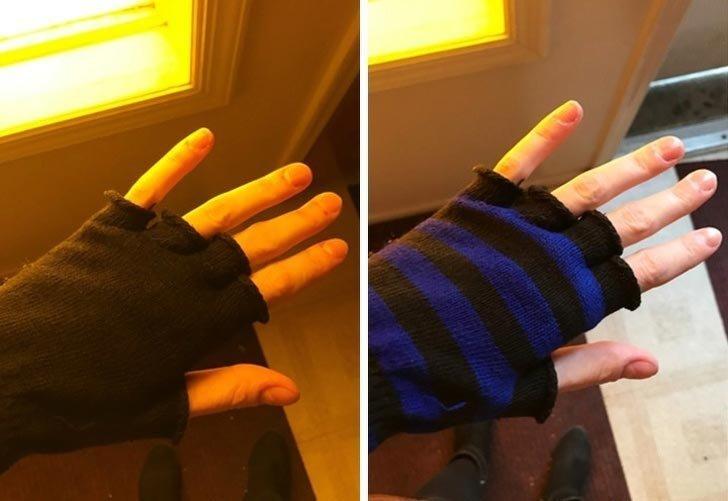 Когда находишь окно, в котором твои перчатки выглядят по-разному в мире, вещи, красота, люди, удивительно, что это такое
