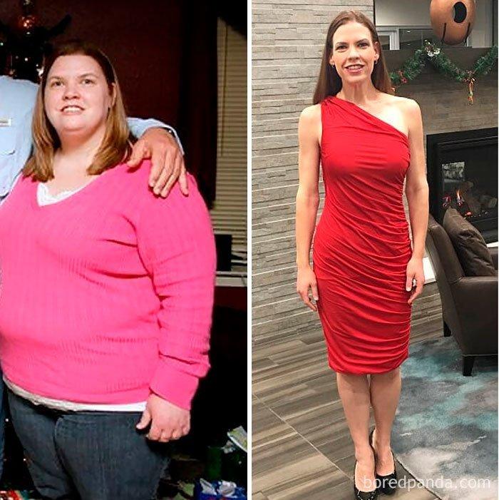 """""""Минус 77 кг за пару лет. Сейчас работаю над формой в тренажерном зале"""" до и после, лишний вес, люди, мотивация, спорт, тогда и сейчас, трансформации, фото"""