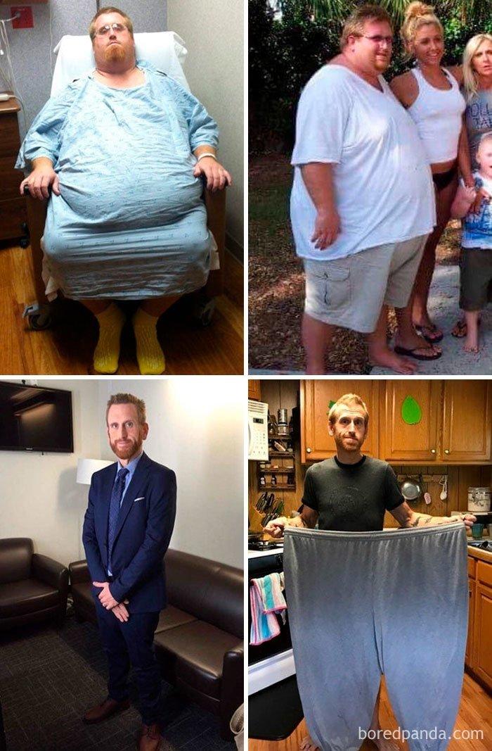 История длиной в 2 года до и после, лишний вес, люди, мотивация, спорт, тогда и сейчас, трансформации, фото