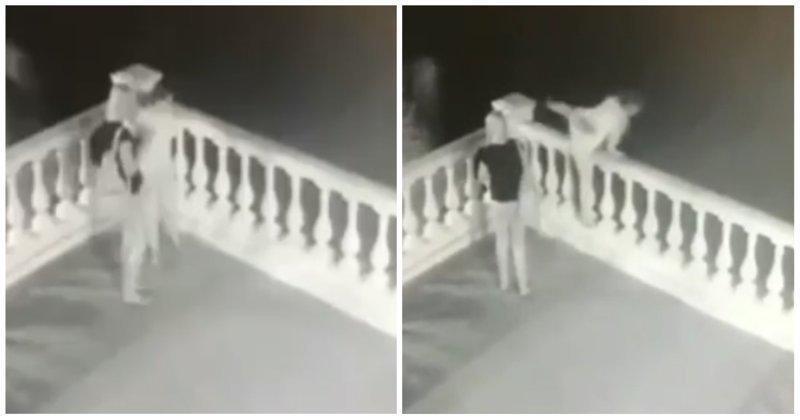 В Геленджике туристка сорвалась с обрыва и разбилась о камни видео, геленджик, обрыв, падение, смерть, турист, туристка