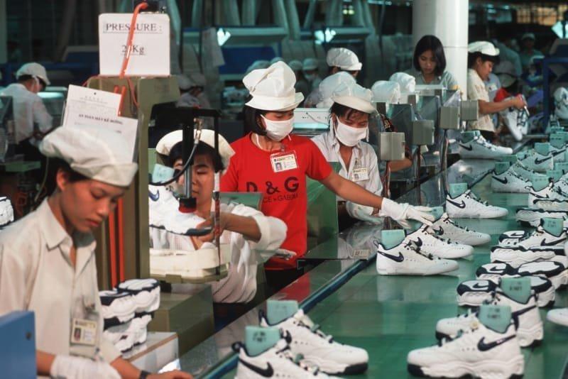 5. Производство кроссовок Nike в Хошимине, Вьетнам азия, заводы, индия, китай, масштабы, производство, фабрики китая, фото