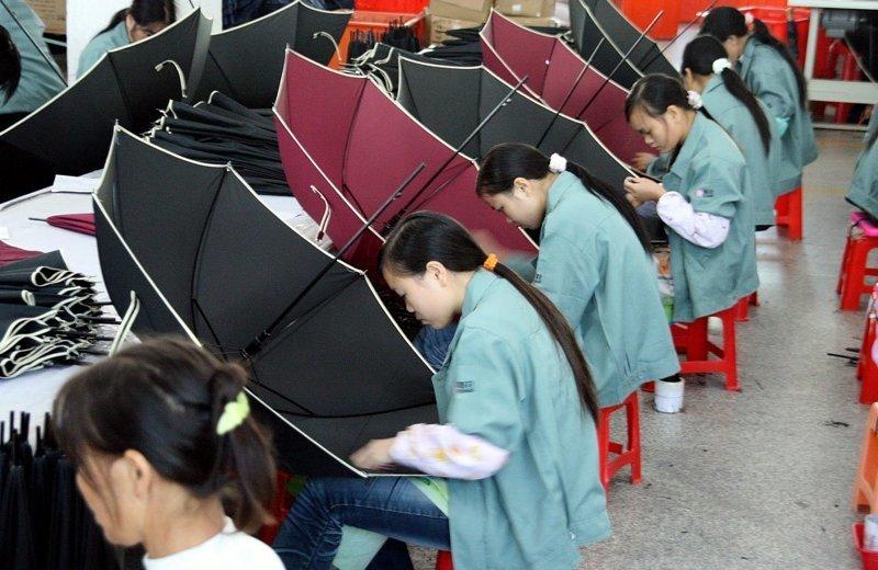 7. Производство зонтов в Тайване азия, заводы, индия, китай, масштабы, производство, фабрики китая, фото