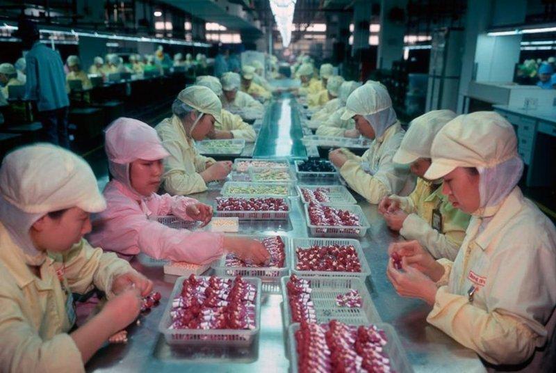 8. Фабрика игрушек в Китае изнутри азия, заводы, индия, китай, масштабы, производство, фабрики китая, фото