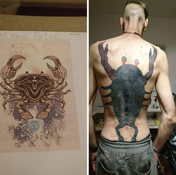 Ожидание и реальность нелепо, подборка, рисунки на теле, тату, татуировки, татуировщик, фейл, фото