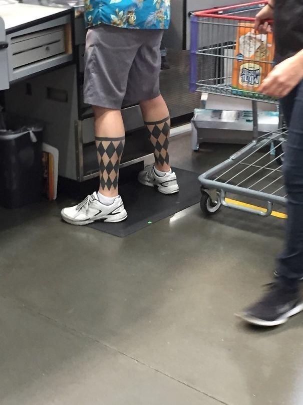 Тату в виде гольф нелепо, подборка, рисунки на теле, тату, татуировки, татуировщик, фейл, фото