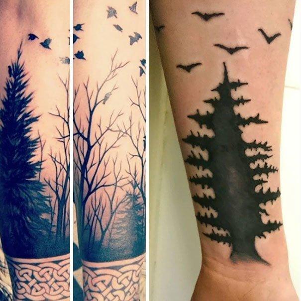 """Из серии """"ожидание и реальность"""" нелепо, подборка, рисунки на теле, тату, татуировки, татуировщик, фейл, фото"""