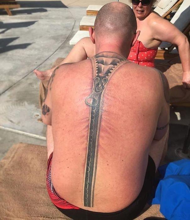 Молния нелепо, подборка, рисунки на теле, тату, татуировки, татуировщик, фейл, фото