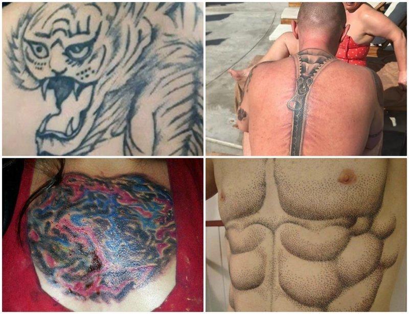 Это провал: 30 самых нелепых татуировок, которые только можно было набить нелепо, подборка, рисунки на теле, тату, татуировки, татуировщик, фейл, фото