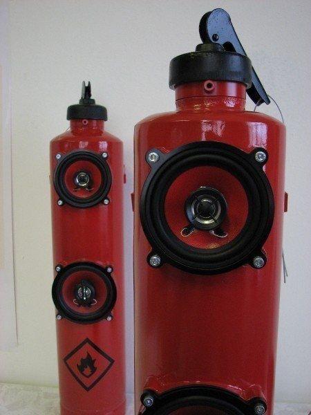 Закончился срок годности автомобильного огнетушителя? Не спешите выбрасывать! авто, идеи использования, огнетушитель, своими руками, фото