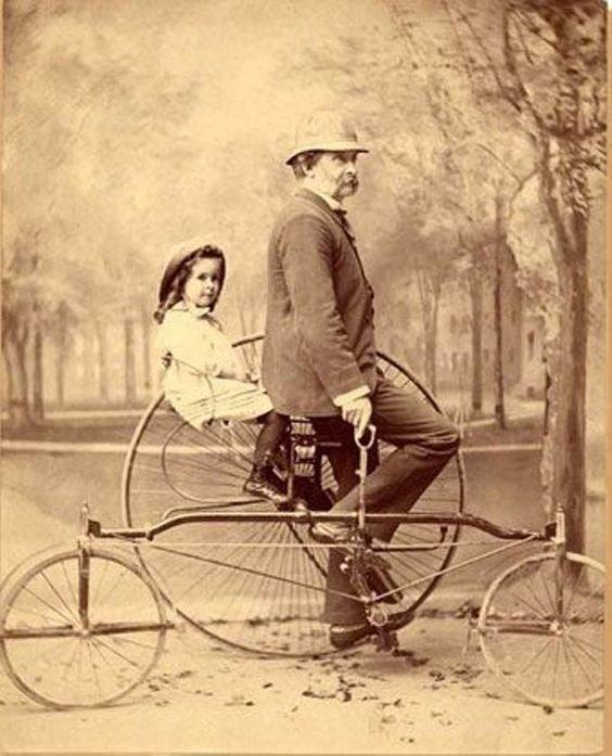 Велосипеды конечно отдельная тема, но мы чуть-чуть подкинем изобретения, интересное, коньки, прадедушка, ролики, сигвей, старые фото