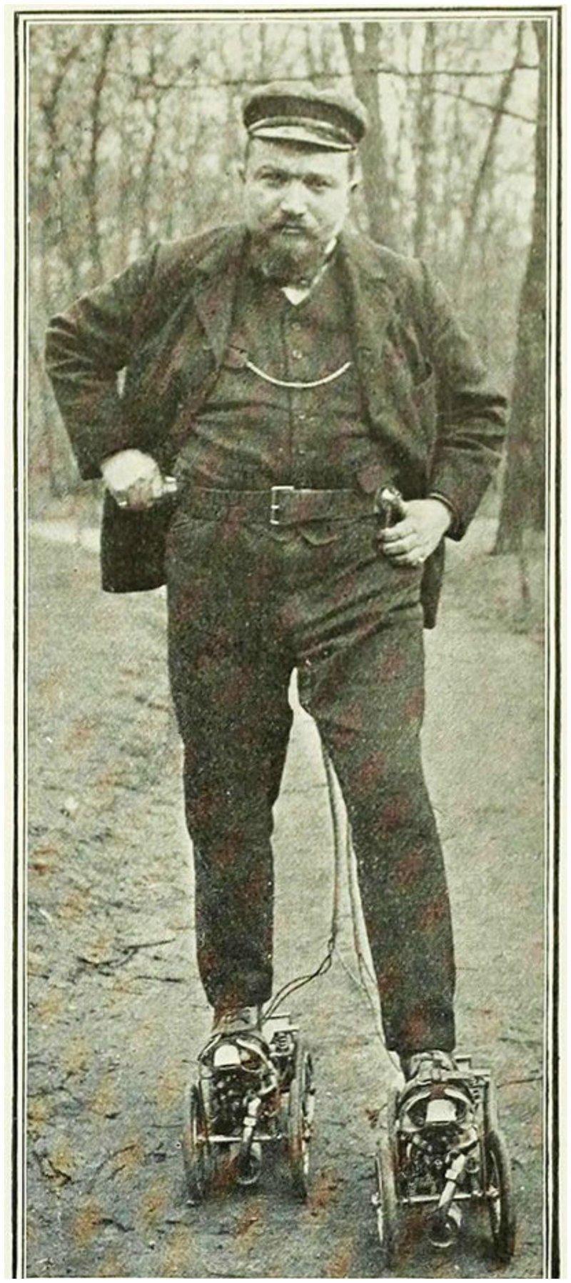 Роликовые коньки в начале 19-го века не были похожи на современные. Коньки с попарным расположением колес, квады, впервые появились в 1863 году в Нью-Йорке и были разработаны Джеймсом Леонардом Плимптоном (англ. James Leonard Plimpton) изобретения, интересное, коньки, прадедушка, ролики, сигвей, старые фото