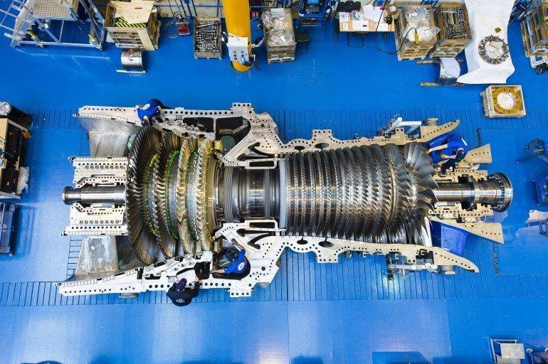 Маленькая газовая турбина - мощнейшая турбина под названием Harriet, объединенная с парогенератором, способна использовать разные виды природного газа (от сланцевого до сжиженного) автомир, грузовики, мощная техника. красота, сила