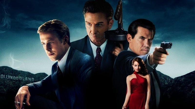 Охотники на гангстеров / «Gangster Squad» (2013) выходные, гангстеры, досуг, залипалово, кино, мафия, фильмы