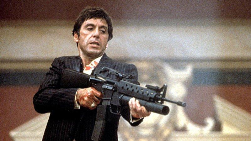 Лицо со шрамом / «Scarface» (1983) выходные, гангстеры, досуг, залипалово, кино, мафия, фильмы