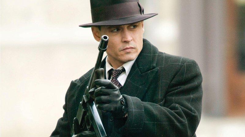 Джонни Д. / «Public Enemies» (2009) выходные, гангстеры, досуг, залипалово, кино, мафия, фильмы