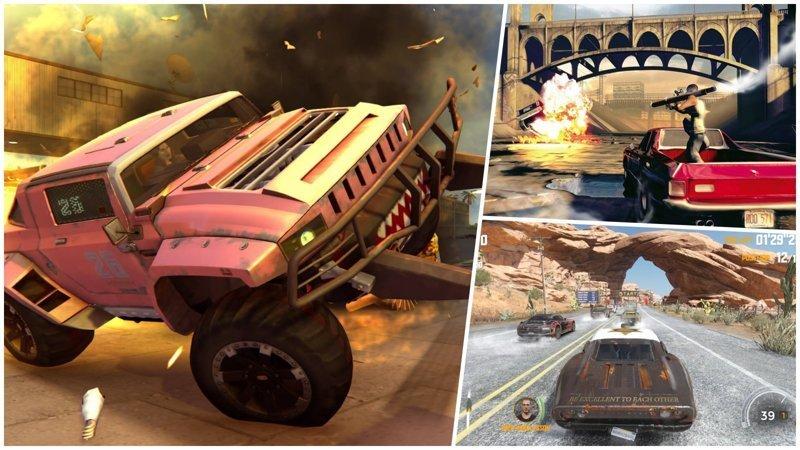 Во что залипнуть на выходных: 10 безумных игр в жанре «гонки на выживание» выходные, гонки на выживание, залипалово, игры, компьютерные игры