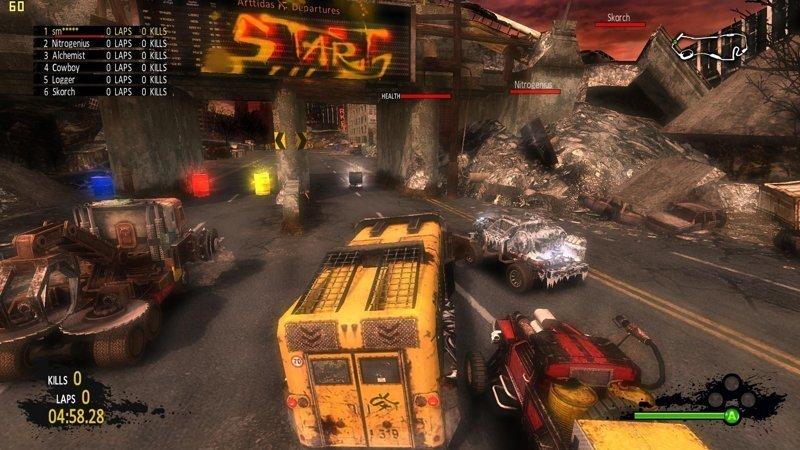 Post Apocalyptic Mayhem (2011) выходные, гонки на выживание, залипалово, игры, компьютерные игры