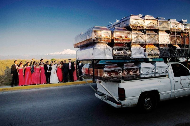 Финалист. «Восхождение на небеса». Автор фото: Хосе Луис Ньето LensCulture, в мире, конкурс, люди, уличное фото, фото