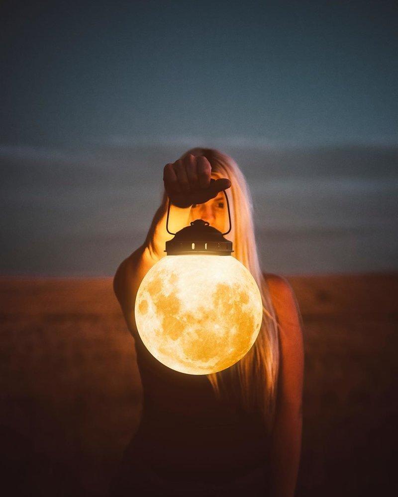 Что, если бы всё, что вы себе представляете, было реальным волшебо, красота, мир, фото, фотошоп, художник