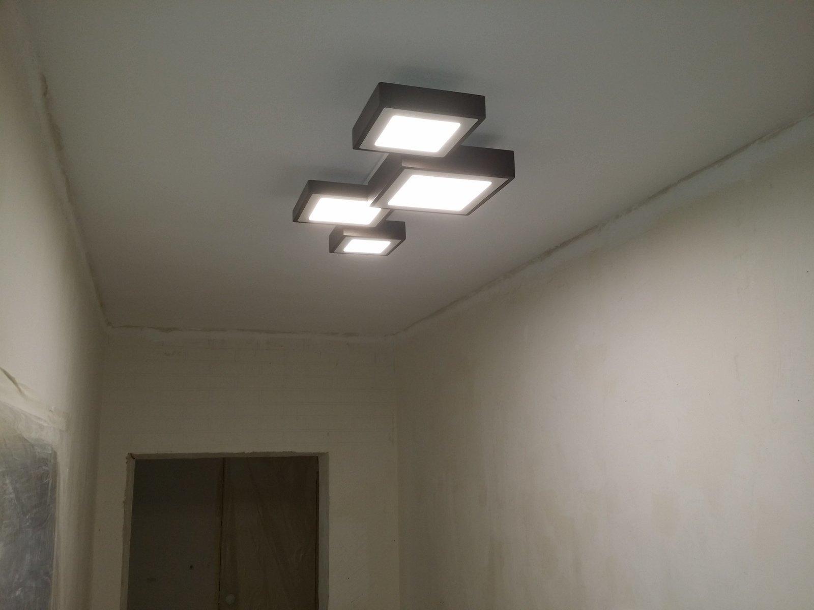 Светильники в коридор своими руками фото