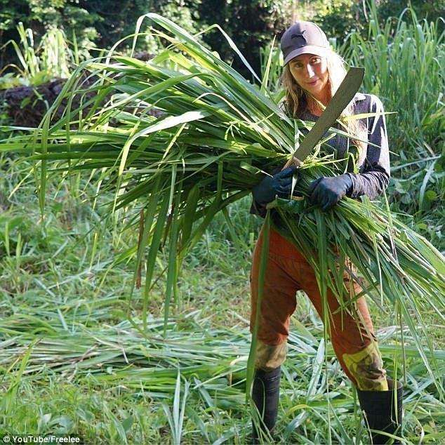 Ноль косметики, волосатые подмышки и бюстгальтер из кокоса: блогер-веган сбежала из города в джунгли блогер, блогерша, блогеры, вдали от людей, джунгли, единение, истории из жизни, природа