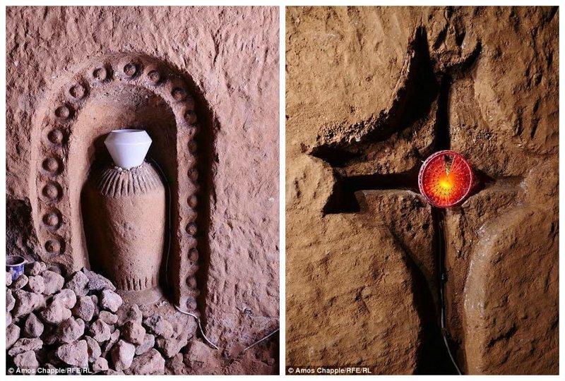 Стены рукотворной пещеры состоят из смеси твердой и мягкой вулканической породы, а температура тут держится на уровне 10 градусов Цельсия круглый год армения, интересно, мастер, музей, подвал, подземный, подземный дом, туристу на заметку