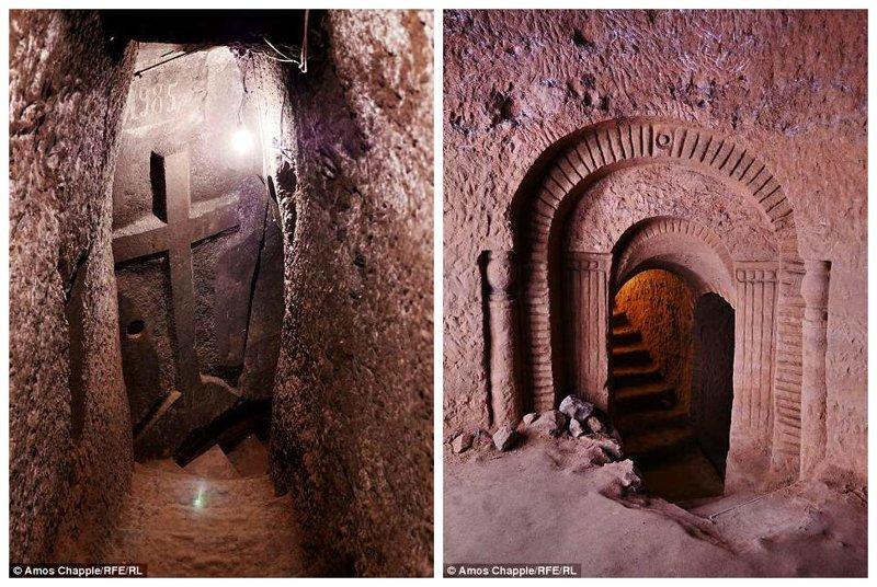 Левон начал работу в 1985 году. Началось все с того, что жена Тося попросила его выкопать яму для хранения картофеля армения, интересно, мастер, музей, подвал, подземный, подземный дом, туристу на заметку