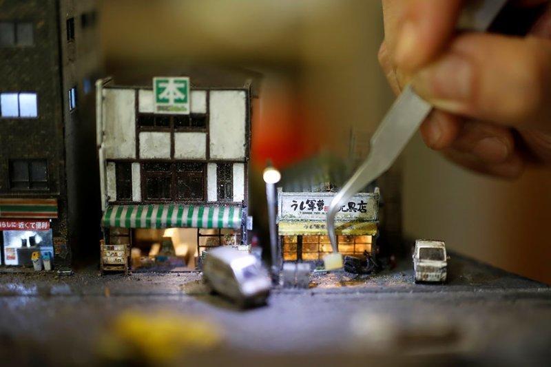 Тайваньский дизайнер создал мир своих воспоминаний в миниатюре дизайнер, искусство, красиво, миниатюры, оригинально, творчество, фото, художник