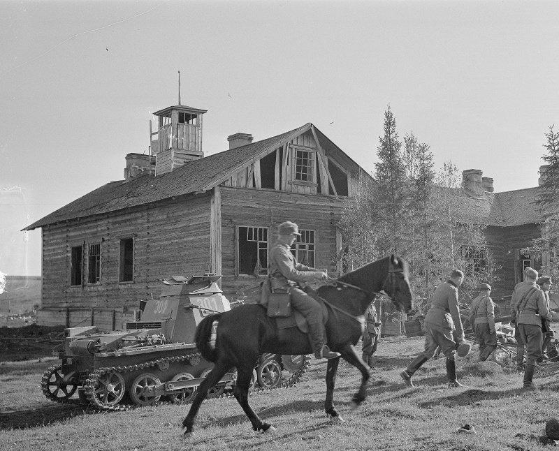21 июня 1941 года финны начали боевые действия против СССР finn, СССР, война