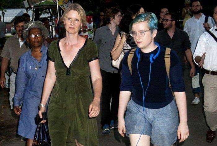 Дочь звезды «Секса в большом городе» сменила пол ynews, Миранда, Секс в большом городе, Синтия Никсон, лезби, трансгендеры