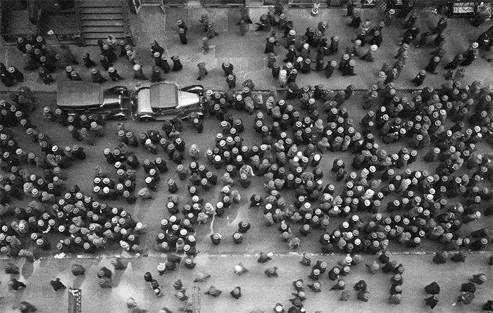 17. Шляпы в Нью-Йорке, 1930 г. война, история, память