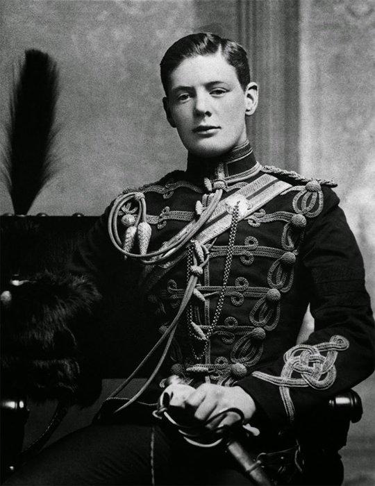 18. Редкое фото молодого Уинстона Черчиля, 1895 г. война, история, память