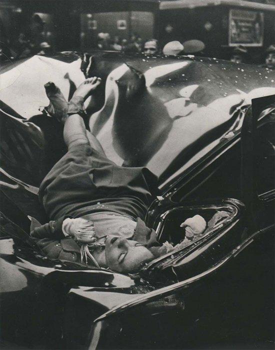 """15. """"Самое красивое самоубийство"""" - Эвелин МакХейл. Evelyn McHale спрыгнула с Эмпайр Стейт Билдинг, 1947 г. война, история, память"""