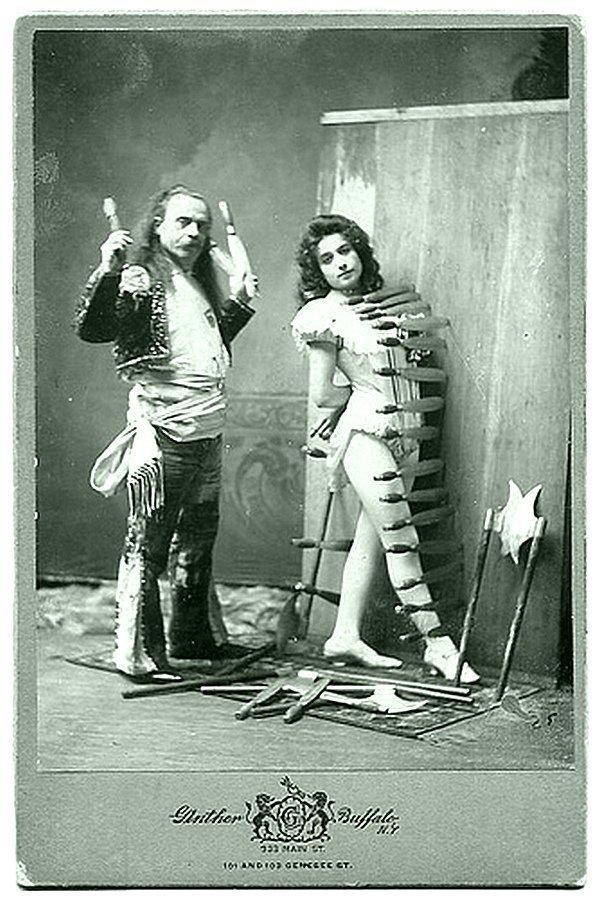 Цирковой экстрим. Весь Мир в объективе, ретро, фотографии