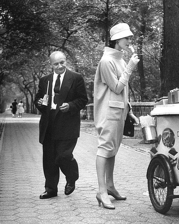 Разочарование как оно есть. Центральный парк Нью-Йорка. 1957 год Весь Мир в объективе, ретро, фотографии