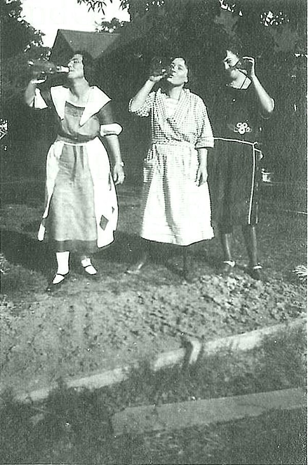 Пьющие дамы вообще не хозяйки Весь Мир в объективе, ретро, фотографии