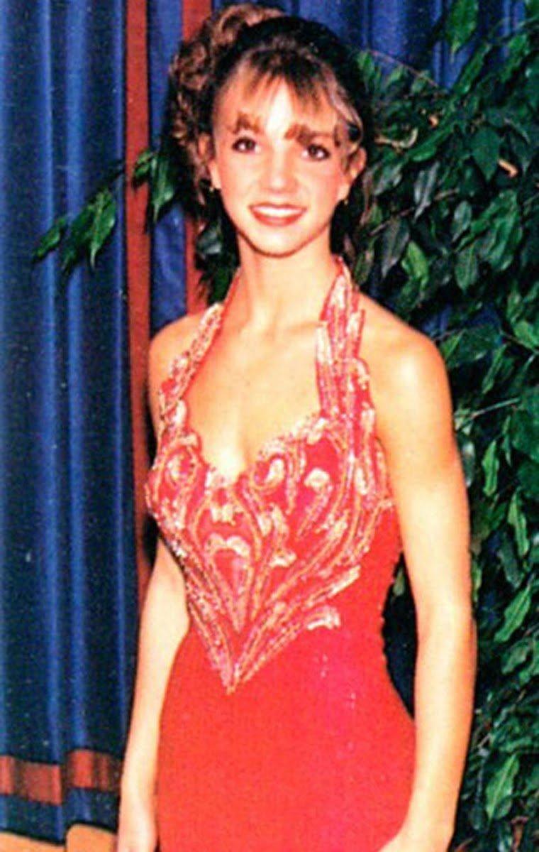 10. Бритни Спирс Популярность, архивные фото, выпускной, звезды, знаменитости, школа