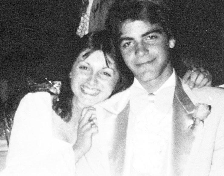 18. Джордж Клуни Популярность, архивные фото, выпускной, звезды, знаменитости, школа